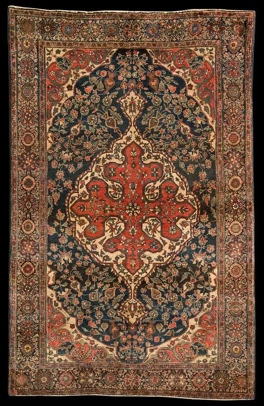 Farahan  Persien, Grösse 205 cm x 131 cm  DerTeppich