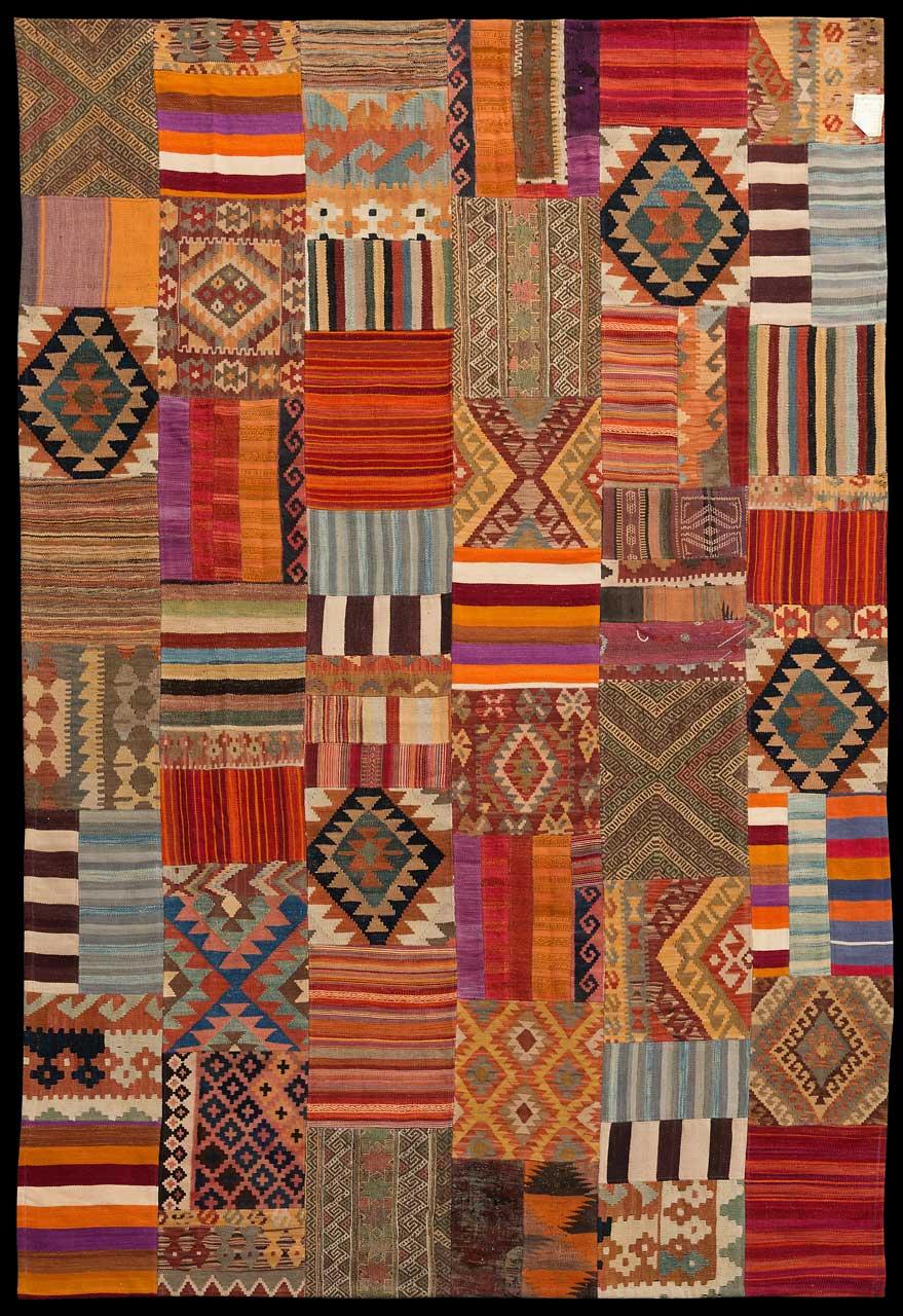 PatchworkKelim  Afghanistan, Grösse 308 cm x 209 cm