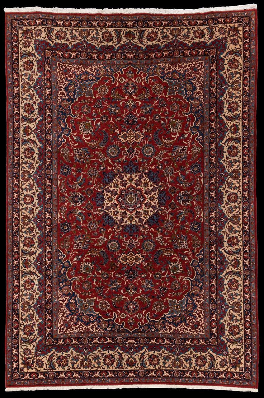 teppich nr 11787 essfahan persien gr sse 344 cm x 231 cm teppich mesgarzadeh www. Black Bedroom Furniture Sets. Home Design Ideas