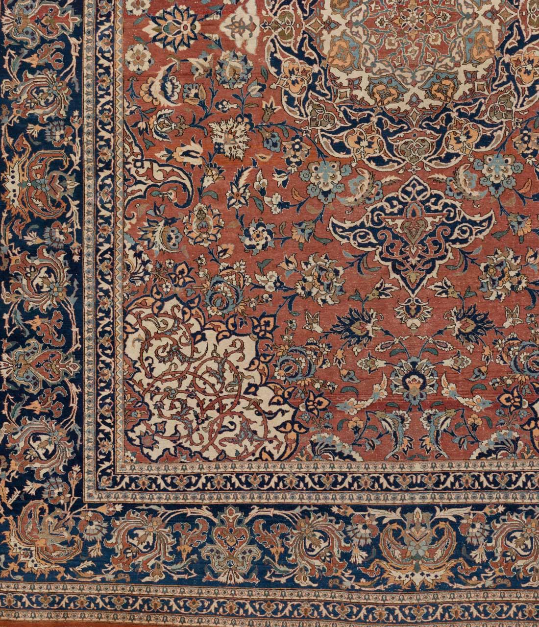 essfahan persien gr sse 330 cm x 250 cm derteppich. Black Bedroom Furniture Sets. Home Design Ideas