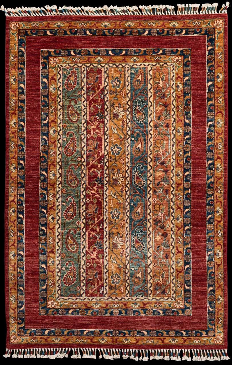 teppich nr 25111 moharamat afghanistan gr sse 191 cm x 127 cm teppich mesgarzadeh www. Black Bedroom Furniture Sets. Home Design Ideas